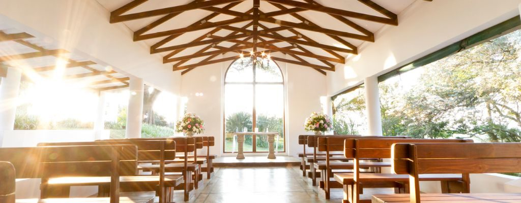 Our beautiful Collisheen chapel at sunset, testimonial page